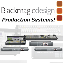 Blackmagic Design Production Systems