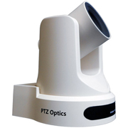 PTZ Optics 20X-USB G2 Live Streaming Camera (White)