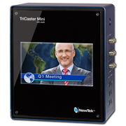 TriCaster Mini HD-4 SDI w/ Integrated Display & 2 Int. Drives