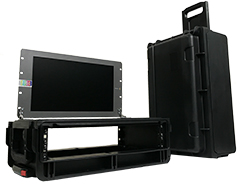 "PortaCast Mini Air Case with 17"" Monitor"